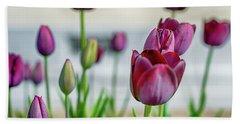 Steckborn Tulips Bath Towel