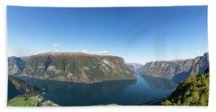 Stegastein, Norway Hand Towel