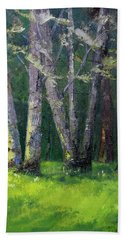 Steilacoom Forest Hand Towel