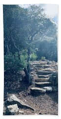 Steps To Enlightenment  Bath Towel