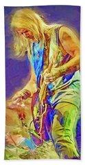 Steve Morse, Deep Purple Hand Towel