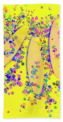 Still Surfboarding Hand Towel