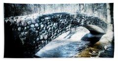 Stone Bridge Michigan Bath Towel