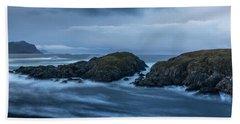Storm At The Sea Hand Towel