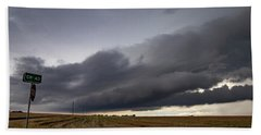 Storm Chasin In Nader Alley 004 Hand Towel