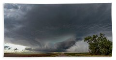 Storm Chasin In Nader Alley 008 Hand Towel
