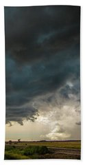 Storm Chasin In Nader Alley 012 Hand Towel