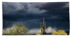 Stormy Sonoran Skies  Bath Towel