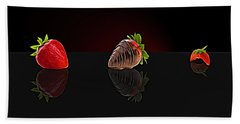 Strawberry Hand Towel