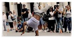Street Dance. New York City. Hand Towel