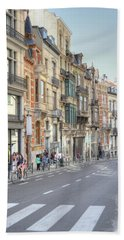 Streets Of Basel Bath Towel