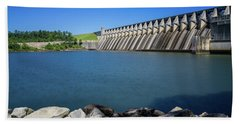 Strom Thurmond Dam - Clarks Hill Lake Ga Bath Towel