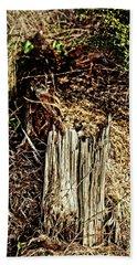Stump In Swamp Bath Towel