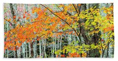Acer Saccharum Photographs Hand Towels