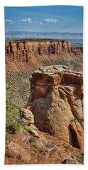 Summer At Colorado National Monument  Bath Towel