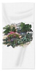 Summer In Amsterdam Hand Towel