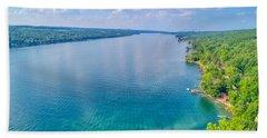 Summer On Keuka Lake Hand Towel