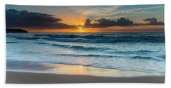Sun Glow Seascape Hand Towel