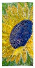 Sunflower Praises Hand Towel
