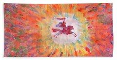 Sunny Rider Hand Towel