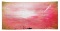 Sunrise At Horicon Marsh N W R Hand Towel