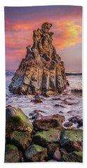 Sunrise On Playa El Bollullo Hand Towel