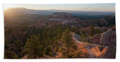 Sunrise Over Bryce Canyon Hand Towel