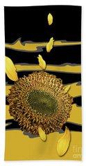 Sun's Flower Hand Towel