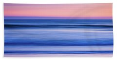 Sunset Abstract Bath Towel