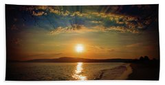 Sunset Artistry Hand Towel