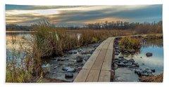 Sunset At Purgatory Creek Hand Towel