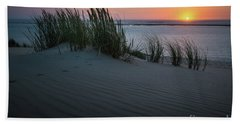 Sunset At The Dunes Hand Towel