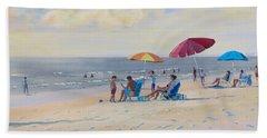 Sunset Beach Observers Hand Towel