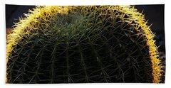 Sunset Cactus Bath Towel