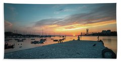 Bath Towel featuring the photograph Sunset Looker by Bruno Rosa