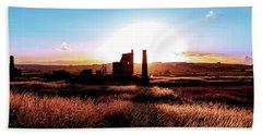 Sunset. Magpie Mine. Bath Towel