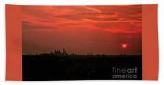 Sunset Over Philly Bath Towel