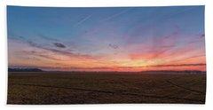 Sunset Pastures Bath Towel