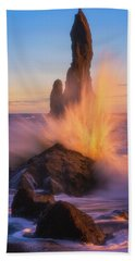 Sunset Splash Bath Towel