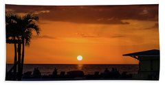 Sunset - St Pete Beach 2 Hand Towel