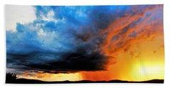 Sunset Storm Hand Towel