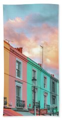 Sunset Street Bath Towel