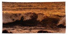 Sunset Wave Bath Towel