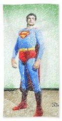 Superman Hand Towel