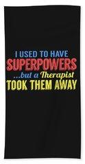 Superpowers Bath Towel
