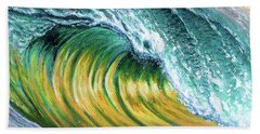 Surf Into The Sunset Hand Towel