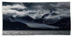 Svalbard Mountains Bath Towel