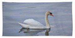 Swan Study 05 Bath Towel