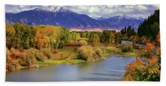 Swan Valley Autumn Hand Towel