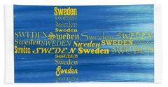 Sweden  Bath Towel